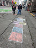 Pretty great! This Seattle sidewalk chalk hopscotch on 2nd Avenue at Union was actually an experiment. We all kids at heart and some people took time to play. (Seattle Department of Transportation) Tags: seattle sdot transportation hopscotch chalk play downtown sidewalk donghochang