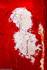 Ella (mniesemann) Tags: ifttt 500px rough damaged textured effect cracked grunge abstract abandoned red plaster wall unintended portrait phantasy