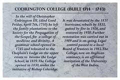 Codrington College (Timothy Valentine) Tags: 0418 vacation sign 2018 sargeantstreet saintjohn barbados bb