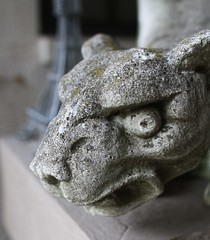 Longwood House (ktmqi) Tags: florida gargoyle statur garden fierce guard stone