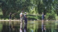 Training day 2 (Parchman Kid (Jerry)) Tags: flyfishingonthenaheriver gensingengermany fly fishing nahe river sony a6500 parchmankid springtime spring rheinlandpfalz