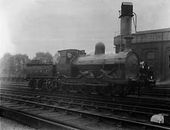 Strawberry Hill Shed 1923. (DepotCat02) Tags: strawberryhill strawberryhillshed strawberryhilldepot lswr lswrly londonsouthwesternrailway locomotive classg6 277a 30277