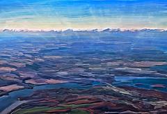 Take Off (Terry Pellmar) Tags: texture digitalart digitalpainting montreal evening skyscape