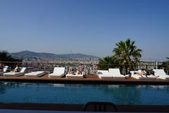 2018-04-FL-183636 (acme london) Tags: barcelona fira hotel jeannouvel pool renaissancehotelfira rooftoppool spain terrace