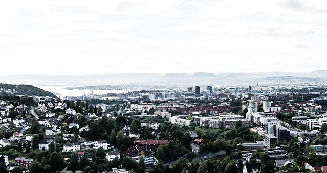 Norwegian City Oslo