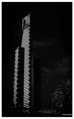 Eureka Tower in Faux Infrared (PEN-F_Fan) Tags: mft m43 olympuspenf mirrorless microfourthirds filmlook fauxinfrared eurekatower mzuiko12100mmf40pro lens highcontrast pencamera skyscraper sky raw zoomlens type style photoframe photoedge photoborder processingsoftware preset postprocessing effect australiaandoceania bwfilms alienskin alienskinexposure building camera bwinfrared blackandwhite southwharf victoria australia aus