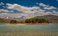 Dillon from Giberson Bay (Fort Photo) Tags: dillon co colorado landscape travel scenic lake water sky forest dillonreservior lakedillon summitcounty island islands gibersonbay pine mountains mountain rockies rockymountainscloudsmichaelmenefee menefee alpine