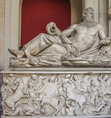 Roman art vatican museum (Alex Ex08) Tags: ancient old relief marble statue museum vatican classical classic god goddess greek greece roman historical art rome