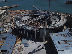 Chase Center - future home, Golden State Warriors (samayoukodomo) Tags: drone dronephotography aerialview aerialphotography quadcopter takingthedroneouttogethigh djimavicpro mavicpro dronepointofview birdseyeview droneview aerial