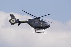 EC-135  82-54 Low Approach @ KSF (Greby-Johann) Tags: ec135 8254 lowapproach ksf eurocopter kassel calden airport flughafen bundeswehr heer luftwaffe gaf
