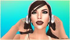 Singing Along (Esme Capelo) Tags: sl secondlife esme capelo headphones music