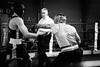 25987 - Hook (Diego Rosato) Tags: boxe boxelatina boxing pugilato ring reunion match incontro nikon d700 tamron 2470mm rawtherapee bianconero blackwhite pugno punch hook gancio montante uppercut