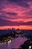 Entre chien et loup (A.G. Photographe) Tags: anto antoxiii xiii ag agphotographe paris parisien parisian france french français europe capitale d850 nikon 70200vrii nikkor notredame sunset bluehour ladéfense grandpalais arcdetriomphe seine