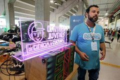 Campus Party (governodabahia) Tags: atrações da campus party bahia 2018 tecnologia secti na arena fonte nova foto elói corrêa recebe palestra de iuri rubim govba governo estado coordenadordocjcc iurirubim coordenador do cjcc