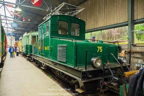 GF Ge 4/4 75 Rangierlok SLM/MFO 1913