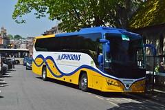 YX16NYA (PD3.) Tags: yx16nya yx16 nya johnsons coach coaches volvo plaxton bus buses hampshire hants england uk south winchester