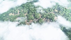 Horrible Place (Mr. Pebb) Tags: bf1 battlefield battlefield1 forest ww1 above cloud clouds stockshot xboxone xbox microsoft ms dice fps firstpersonshooter multiplayer map mp plane planes argonne france game overhead tree trees scenery