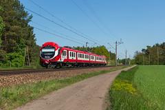 KW EN57-1413 (Durk Houtsma.) Tags: kolejewielkopolskie jastrzebsko en57 kw jastrzębsko en571413 nowejastrzębsko wielkopolskie polen pl