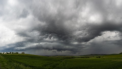 Arcus {Explore} (ZeGaby) Tags: arcus champagne clouds marne naturephotography orages panorama panoramic pentax2470mm pentaxk1 storm weather paysagesdechampagne mareuilsuray grandest france fr