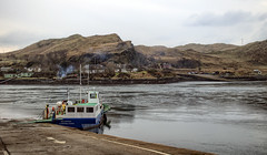 Looking across to island of Luing from the island of Seil (wooiwoo) Tags: cuanferry luing scottishhighlands seil ferry mvbelnahua southcuan northcuan