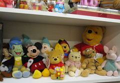 Various Vintage Disney Stuffed Toys, Antique Trove, Scottsdale, AZ (classic_film) Tags: disney toy waltdisney antique vintage retro classic old arizona scottsdale store antiques nostalgic nostalgia ephemeral southwest unitedstates southwestern america city american usa añejo época clásico jahrgang alt oll