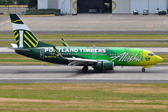 Alaska Airlines - Boeing 737-700 - N607AS - Portland Timbers - Portland International Airport (PDX) - June 3, 2015 3 451 RT CRP (TVL1970) Tags: nikon nikond90 d90 nikongp1 gp1 geotagged nikkor70300mmvr 70300mmvr aviation airplane aircraft airlines airliners portlandinternationalairport portlandinternational portlandairport portland pdx kpdx n607as alaskaairlines alaskaairgroup portlandtimbers speciallivery boeing boeing737 boeing737700 737 737ng b737 b737ng 737700 737700wl boeing737790 737790 737790wl aviationpartners winglets cfminternational cfmi cfm56 cfm567b24 thrustreverser thrustreversers