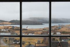 Window View ... (vanessa violet) Tags: portrexton fishersloftinn windowview view window hww happywindowwednesday wednesday windowwednesday foggy rainy rain rdf spring newfoundland fishersloft
