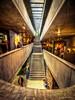 Stairway to cafe (Norbert Clausen) Tags: fluchtpunkt vanishing point architektur architekture treppe