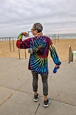 Beach peeps (Most are more stylish than me) (cbonney) Tags: virginia beach atlantic ocean boardwalk peeps dog walkers stylish woman