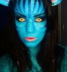 Avatar! By @makeupartist_ed (ineedhalloweenideas) Tags: halloween avatar makeup make up ideas for 2017 happy night before christmas october 31 autumn fall spooky body paint art creepy scary horror pumpkin boo artist goth gothic amazing