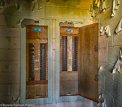 20171120_LANCASTER and WV_20171120-BFF_4980WV Penitentiary_HDR (Bonnie Forman-Franco) Tags: penitentiary prison electricalpanel hdr abandonedpenitentiary abandonedphotography abandonedprison photography photoladybon bonnie westvirginia westvirginiapenitentiary westvirginiaprison moundsville nikon nikonphotography nikond750