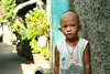 boy with mostly shaved head (the foreign photographer - ฝรั่งถ่) Tags: boy child mostly shaved head khlong thanon portraits bangkhen bangkok thailand canon