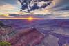 Sunset at Hopi Point Grand Canyon (Yang Yu's Album) Tags: grandcanyonvillage arizona unitedstates us grandcanyon 大峡谷 亚利桑那 美国 sony a7r3 索尼 landscape 风光 hopipoint