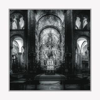 Interior of the Cathedral of Santiago de Compostela