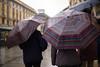 Milano Street Walking - Diversity (In.Deo) Tags: milano lombardia italy street rain umbrella