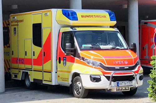 Iveco Emergency Ambulance of Bundeswehr Hospital Berlin