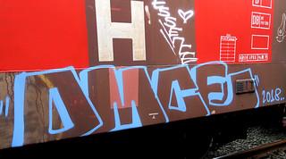 graffiti on freighttrains