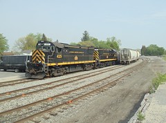 DSC06365R (mistersnoozer) Tags: lal shortline railroad rr rgvrrm excrusion train alco locomotive c425 c420