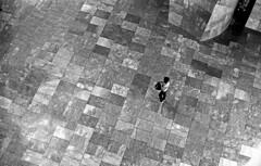Isolation (Gabo Barreto) Tags: bilbao paisvasco basquecountry guggenheim museum lonely emptyness walking film 35mm canon a1 fd fuji fujiacros fujifilm filmcamera filmisnotdead monochrome selfdeveloped scannedfromfilm analoguephotography