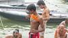 Bath-10.jpg (Karl Becker Photography) Tags: india varanasi nikon ganges river bath boy youngman shirtless