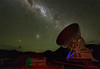 MOPRA, Milky Way, SMC and LMC (Randy Hoffmann) Tags: radiotelescope mopra lmc smc magellaniccloud australia nsw milkyway telescope observatory