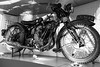 Vintage Motorcycle Exhibit at the Riverside Transport Museum (ho_hokus) Tags: 2018 escocia fujix20 fujifilmx20 glasgow riversidemuseum schottland scotland scozia transportmuseum motorbike motorcycle écosse bsa