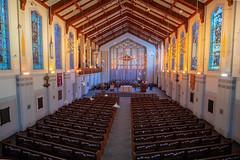 Murmuration (sniggie) Tags: christchurchcathedral cincinnati episcopal birdart flight organist sunbeam starling artwork religion christian murmuration cathedral