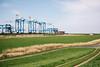 Container Terminal (Nuuttipukki) Tags: ct4 container terminal schiffahrt shipping port bremerhaven bremen weddewarden wremen nature industry