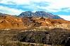 Funeral Mountains Over Ryan (EmperorNorton47) Tags: deathvalleynationalpark california photo digital spring desert mountains landscape minetailings mountain soil mountainside funeralmountains geology nps unesco worldheritagesite