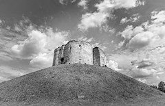 Clifford's Tower (jack cousin) Tags: 13thcentury british clifford'stower england uk york yorkshire ancient architecture attraction bluesky cloud daytime exterior fort grass green height heritage hillock historic history icon iconic landmark localicon lowangle medieval monument mound notice old outdoor people placeofinterest remains ruin ruins sky stone stonework sunny tourism touristattraction tower travel trees window on1photos nikond610