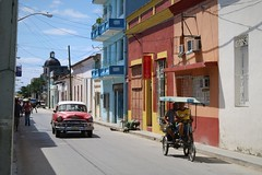 Holguin City, Cuba (Ramon Boersbroek) Tags: 2018 cuba holguin city village colour old timer taxi airport hotel holiday travel street life beautiful centre accomodation weather map photo beach normal typical interest bike car people church buildings building
