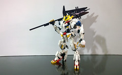 LEGO Gundam Barbatos Lupus Rex ASW-G-08 1/60 (demon1408) Tags: lego gundam barbatos frame iron blooded orphans asw 08th tekkadan technic bionicle hero factory brick robot mecha toy figure đồ chơi rex lupus