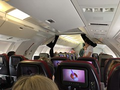 Virgin Atlantic Boeing 747-400 (RS Pictures) Tags: virgin atlantic boeing 747400 gvgal jerseygirl upstairs economy bubble ife inflight entertainment