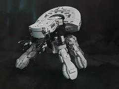 Ghost In The Shell T08A2 Prototype Version (wolf.leews) Tags: t08a2 r3000 tank walkingtank scifi 攻殻機動隊 ghostintheshell anime mecha moc lego レゴ think thinktank motokokusanagi 草薙素子 toy